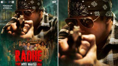 Radhe New Poster Out! Salman Khan Gives Major Wanted Vibes; Trailer Drops At 11 AM
