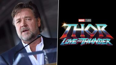 Thor: Love and Thunder – Russell Crowe Confirms He Is Playing Zeus in Chris Hemsworth's Marvel Movie