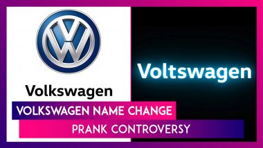 Volkswagen Name Change Prank Controversy: Automaker Voices Regret After Outcry