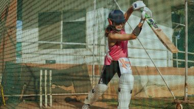 Shabaash Mithu: Taapsee Pannu Begins Her Weekday Prepping Up for Mithali Raj Biopic in Nets (See Pic)