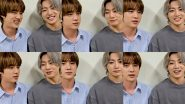 BTS Jin and Jungkook's 'Bang Bang Con 21' Streaming Event: Jungkook's Pics and Videos Go Viral on Twitter After ARMY Celebrates K-Pop Singers' Promotion Video