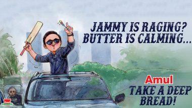 Rahul Dravid's 'Indiranagar Ka Gunda' Funny Meme Trend Sees Amul Sharing an Amazing Topical! View Pic