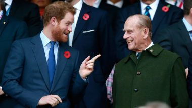 Prince Harry Arrives in UK Ahead of Prince Philip's Funeral on April 17