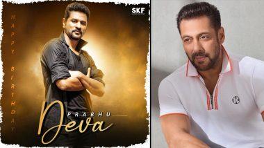 Salman Khan Films Extends Birthday Wishes to Prabhudeva (View Pic)