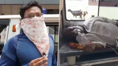 Chandrapur Shocker: Struggling To Get Hospital Bed, COVID-19 Patient's Son Says 'Give a Bed or Kill Him' (Watch Video)