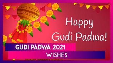 Gudi Padwa 2021 Wishes: Celebrate Maharashtrian New Year by Sharing These Beautiful Greetings