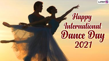 International Dance Day 2021 Wishes, Greetings, and Quotes: Send These Messages, Dance HD Images, Telegram Pics, and WhatsApp Photos to Your Loved Ones