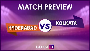 SRH vs KKR Preview: Likely Playing XIs, Key Battles, Head to Head and Other Things You Need to Know About VIVO IPL 2021 Match 3
