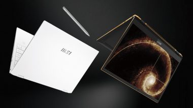 MSI Summit E13 Flip Evo & Summit E16 Flip Laptops Announced