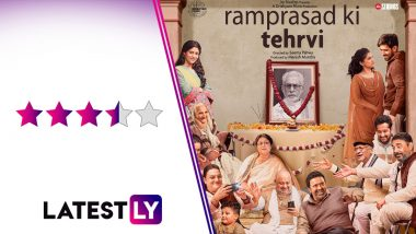 Ram Prasad Ki Tehrvi Movie Review: Seema Pahwa's Debut Directorial Is Both Funny and Poignant Aided by an Enviable Acting Ensemble (LatestLY Exclusive)