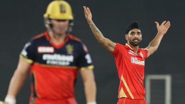 Harpreet Brar Quick Facts: Things To Know About PBKS Spinner Who Dismissed Virat Kohli, AB de Villiers And Glenn Maxwell