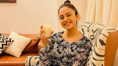 Rakul Preet Singh Shares Health Tip, Suggests Her Recipe To Beat Summer Heat! (View Post)