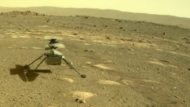 NASA's Mars Helicopter Survives First Freezing Martian Night