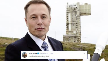 Is Elon Musk Going to Moon Soon? Check out the Latest Tweet From SpaceX Founder That Has Netizens Wondering