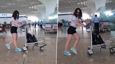 Radhika Madan Moonwalks Her Way Home to Delhi (Watch Video)