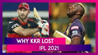 Bangalore vs Kolkata IPL 2021: 3 Reasons Why Kolkata Lost