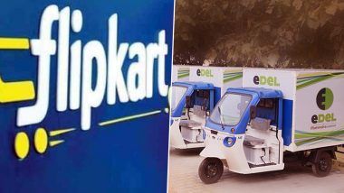 Flipkart Partners with EDEL by Mahindra Logistics to Accelerate Deployment of Electric Vehicles in its Last-Mile Delivery