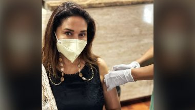 Madhuri Dixit Gets Second Jab of COVID-19 Vaccine, Urges Everyone To Take the Vaccine As Soon as Possible (View Post)