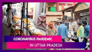 Coronavirus Pandemic In UP: Lucknow Crematorium Covered With Tin Walls As Video Of Rows Of Pyres Goes Viral
