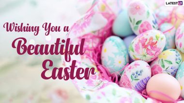 Happy Easter 2021 Messages and Facebook Greetings: WhatsApp Stickers, Easter Sunday Telegram Greetings, Signal GIFs and HD Images to Celebrate the Christian Festival