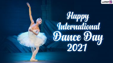 Happy International Dance Day 2021 HD Images and Wallpapers For Free Download Online: WhatsApp Messages, GIF Messages and Quotes to Share on This Day