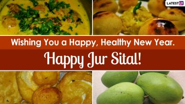 Jur Sital 2021 Wishes And Greetings: WhatsApp Stickers, Facebook Status Messages, Images and HD Wallpapers to Share on Maithil New Year