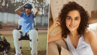 Shabaash Mithu: Taapsee Pannu Welcomes Summer As She Shares Photo From the Sets of Her Upcoming Film