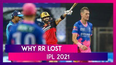 Bangalore vs Rajasthan IPL 2021: 3 Reasons Why Rajasthan Lost