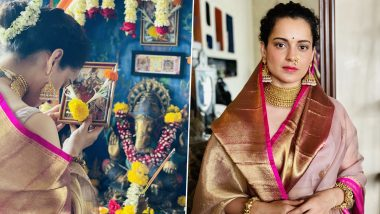Gudi Padwa 2021: Kangana Ranaut Wishes Fans a Happy Navratri, Says 'If You Don't Know What to Do, Worship Your Mother and Take Her Blessings'