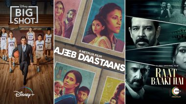 OTT Releases of The Week: John Stamos' Big Shot on Disney+ Hotstar, Karan Johar's Ajeeb Daastaans on Netflix, Paoli Dam's Raat Baaki Hai on ZEE5 and more