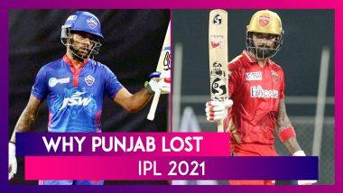 Delhi vs Punjab, IPL 2021: 3 Reasons Why Punjab Lost