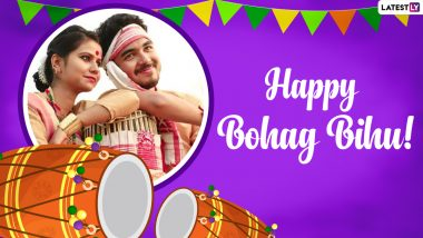 Happy Bohag Bihu 2021 Wishes And Greetings: Facebook Messages, WhatsApp Stickers, GIF Images & SMS to Celebrate Assamese New Year