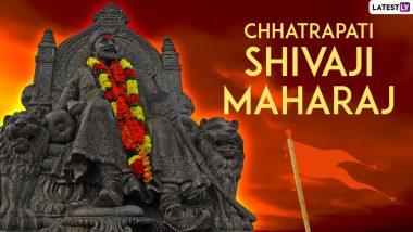 Chhatrapati Shivaji Maharaj Punyatithi 2021 HD Images and Messages: Send WhatsApp Stickers, Shivaji Maharaj Facebook Quotes and Telegram Photos on 341st Death Anniversary of the Brave Maratha King