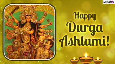 Happy Durga Ashtami 2021 Wishes And HD Images: Greetings, WhatsApp Messages, Facebook Status And Wallpapers to Share on The Eighth Day of Chaitra Navratri