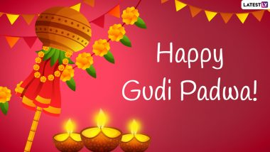 Happy Gudi Padwa 2021 Wishes & Ugadi Greetings: Send WhatsApp Stickers, Facebook Messages, Samvatsar Padvo Signal HD Images and Telegram Greetings to Celebrate Marathi New Year
