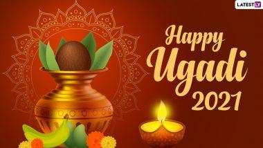 Happy Ugadi 2021 Messages & Gudi Padwa Greetings: Netizens Celebrate Hindu New Year via Telegram Images, Quotes & Signal Wishes