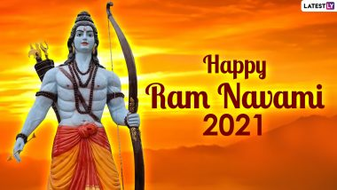 Ram Navami 2021 Wishes and Lord Rama HD Images: Send Happy Rama Navami Greetings With Shree Ram Wallpapers, WhatsApp Messages, Facebook Status and Signal Quotes on the Ninth Day of Chaitra Navratri