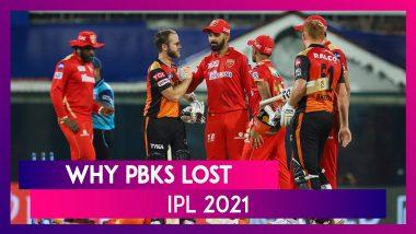 Punjab vs Hyderabad IPL 2021: 3 Reasons Why Punjab Lost