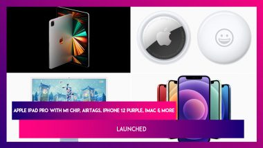iPhone 12 Purple, Apple TV 4K & New iMac, iPad Pro With M1 Chip, Apple TV 4K Launched