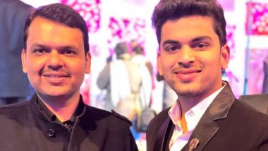 'Devendra Fadnavis Is Your Nephew Tanmay 45+ Years Old?,' Youth Congress Leader Questions Former Maharashtra CM Over COVID-19 Vaccine