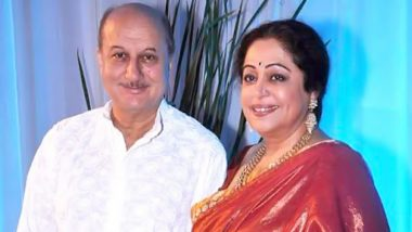 Kirron Kher Health Update: Anupam Kher Clears Air, Says 'She Is Doing Absolutely Fine and Took 2nd Dose of COVID-19 Vaccine Today'