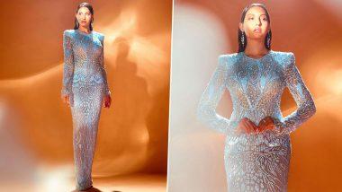 Yo or Hell No? Nora Fatehi's Sheer Bodycon Dress By Naeem Khan