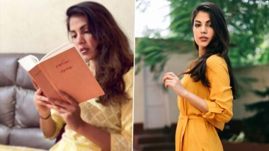 Rhea Chakraborty Seeks Inspiration From Rabindranath Tagore's Gitanjali, Shares a Powerful Quote About Faith