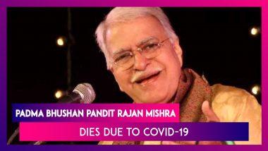 Padma Bhushan Pandit Rajan Mishra Dies Due To Covid-19, PM Narendra Modi Expresses Grief