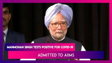 Manmohan Singh, Former PM Admitted To AIIMS After Testing Positive For Coronavirus; Condition Is Stable Says Union Health Minister Harsh Vardhan