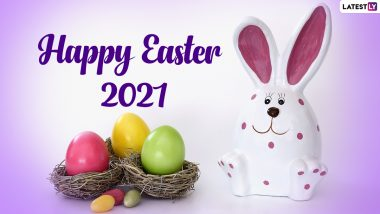 Happy Easter 2021 Messages & Resurrection Sunday HD Images: Send Easter Sunday Wishes, GIFs, Telegram Greetings & Jesus Christ Photos to Celebrate the Holiday