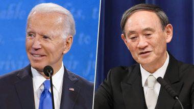 US President Joe Biden, Japanese PM Yoshihide Suga Discuss Chinese Influence Over Indo-Pacific
