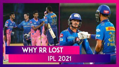Mumbai vs Rajasthan IPL 2021: 3 Reasons Why Rajasthan Lost
