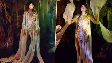 Sonam Kapoor Turns Muse for Dutch Designer Iris van Herpen and Their Union is a Delight for all the Couture Lovers (View Pics)