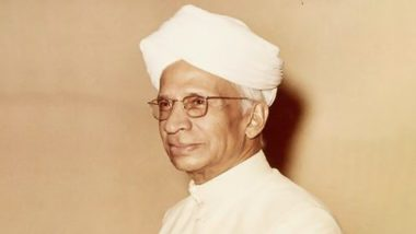 Dr Sarvepalli Radhakrishnan 46th Death Anniversary: Twitterati Shares Pics and Inspirational Quotes Remembering the Bharat Ratna